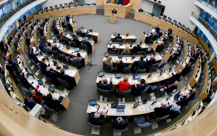 Seimas to decide on overhaul of party subsidies