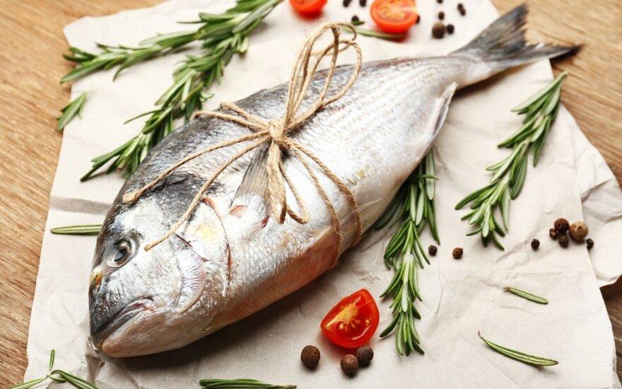 Žuvis švenčių stalui