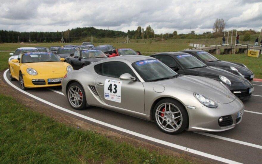 Porsche klubo sezono uždarymas