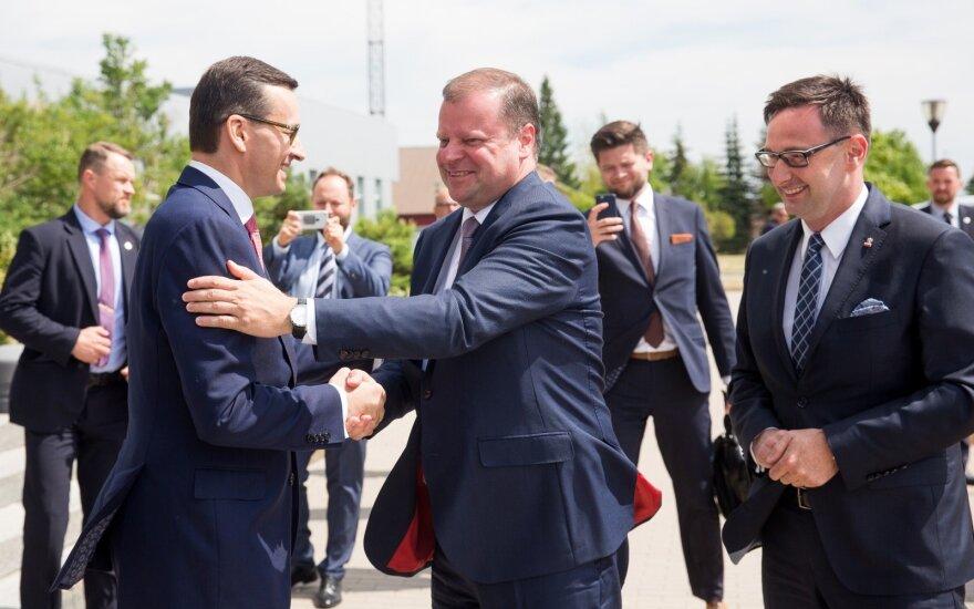 Skvernelis: susitarus dėl sinchronizacijos, būtų lengviau derėtis dėl europinės paramos