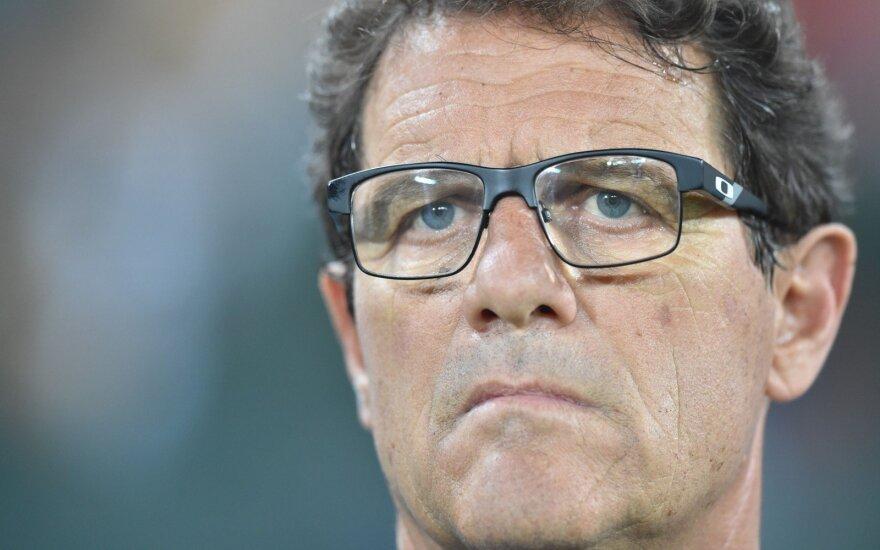 Karjerą baigia strategas Fabio Capello, tačiau italas nuo futbolo nenutols