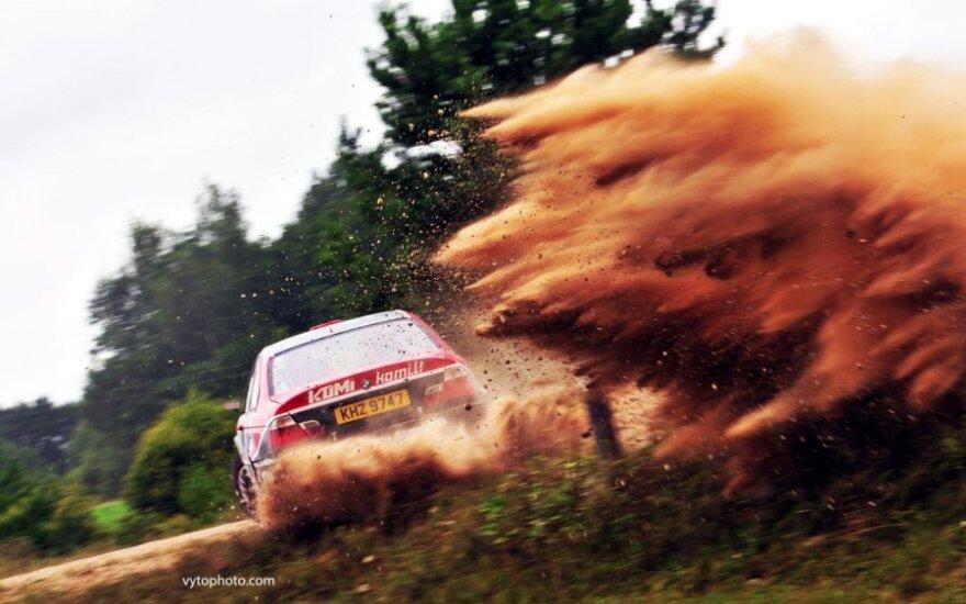 """""""DHL Rally Elektrėnai 2015"""" sufleris žiūrovams"""