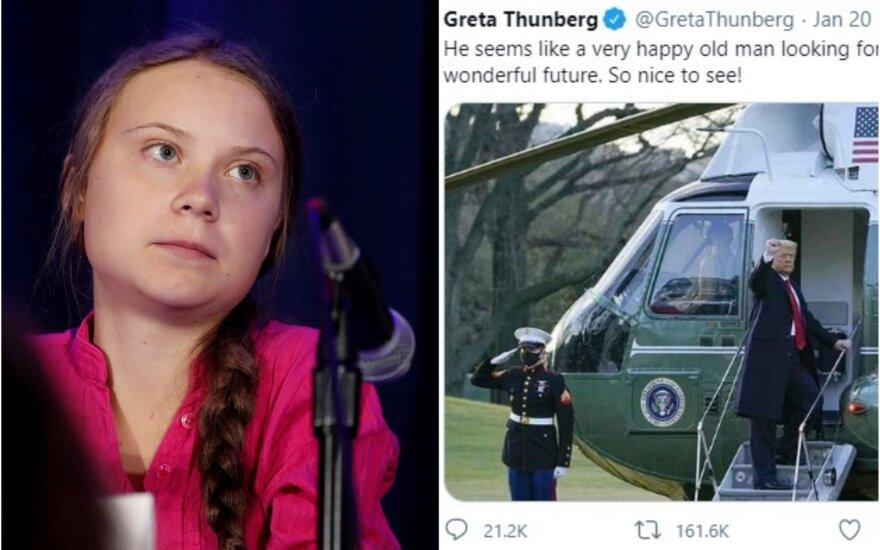 Greta Thunberg, Donaldas Trumpas