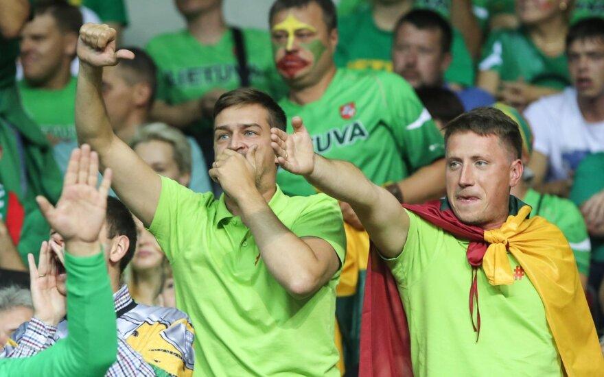 Europos krepšinio čempionatas 2015. Lietuva - Belgija
