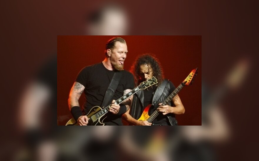 "Grupės ""Metallica"" lyderis paguldytas į ligoninę"