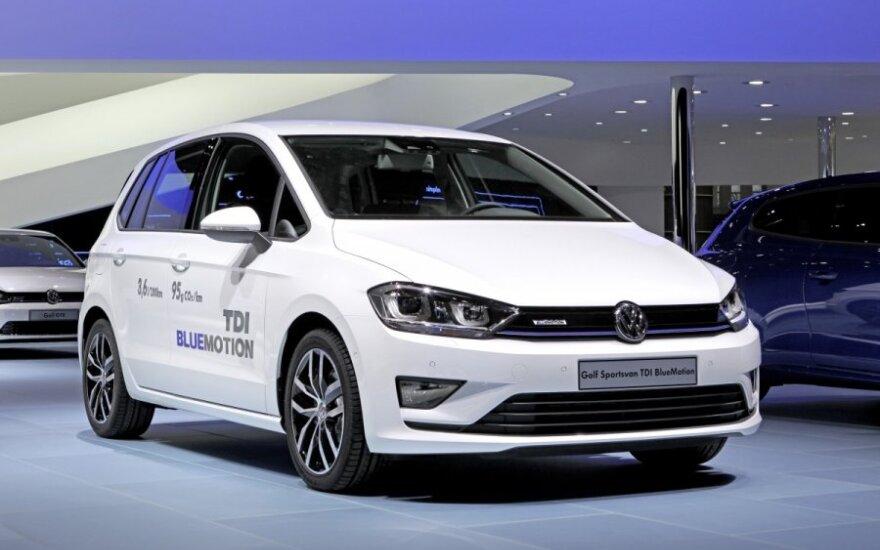 Volkswagen Golf Sportsvan TDI BlueMotion