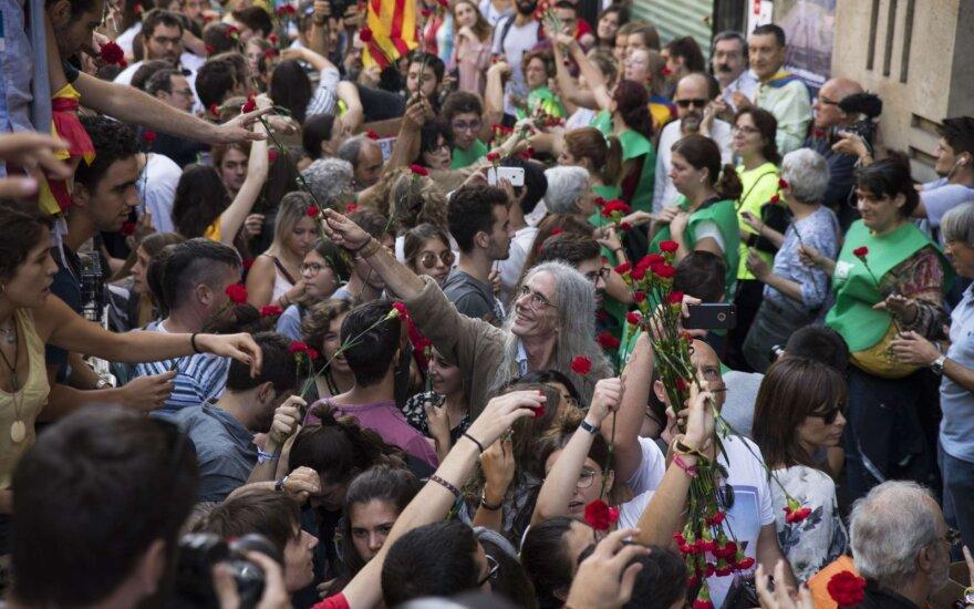 Madride per protestus prieš karantino priemones suimta per 30 žmonių