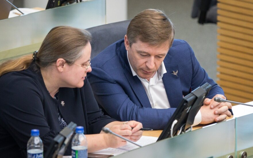 Agnė Širinskienė, Ramūnas Karbauskis