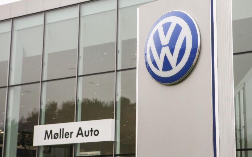 Naujas Volkswagen salonas Vilniuje