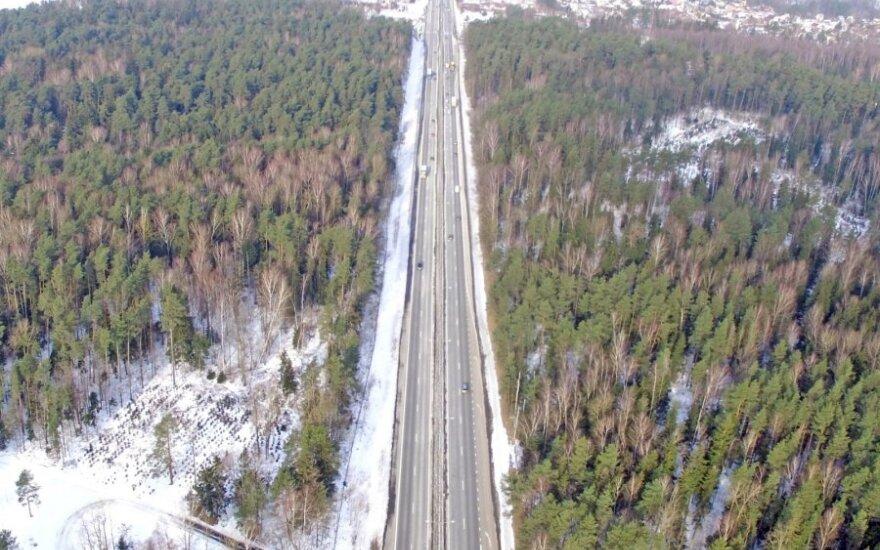 Kelias Vilnius–Kaunas nuo kitų metų gaus automagistralės statusą