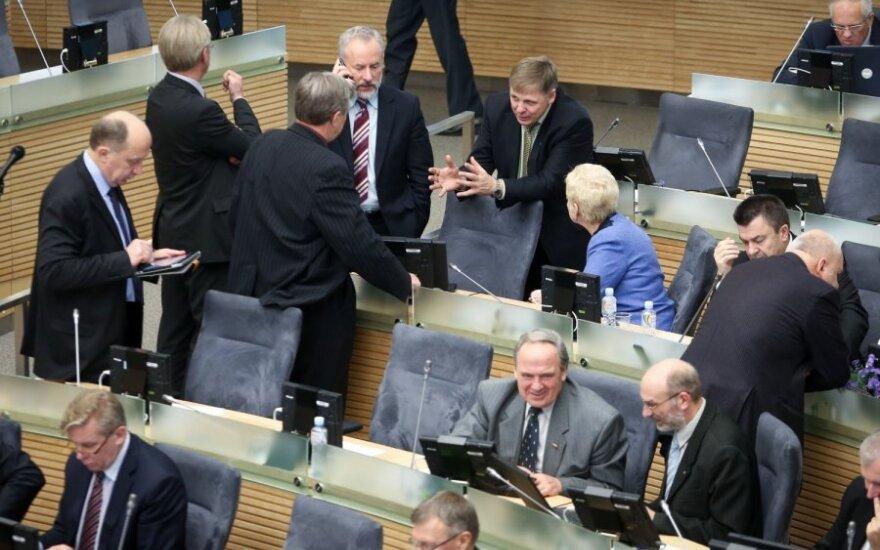 Naujai išrinktiems Seimo nariams bus įteikti pažymėjimai