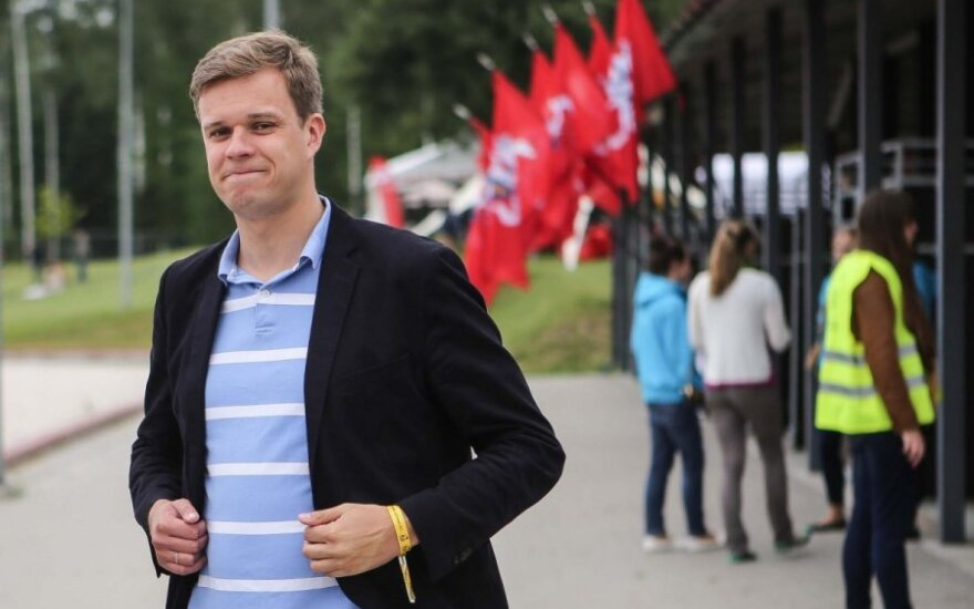Gabrielius Landsbergis - rising conservative star powered by recognizable name and tough stance on Russia