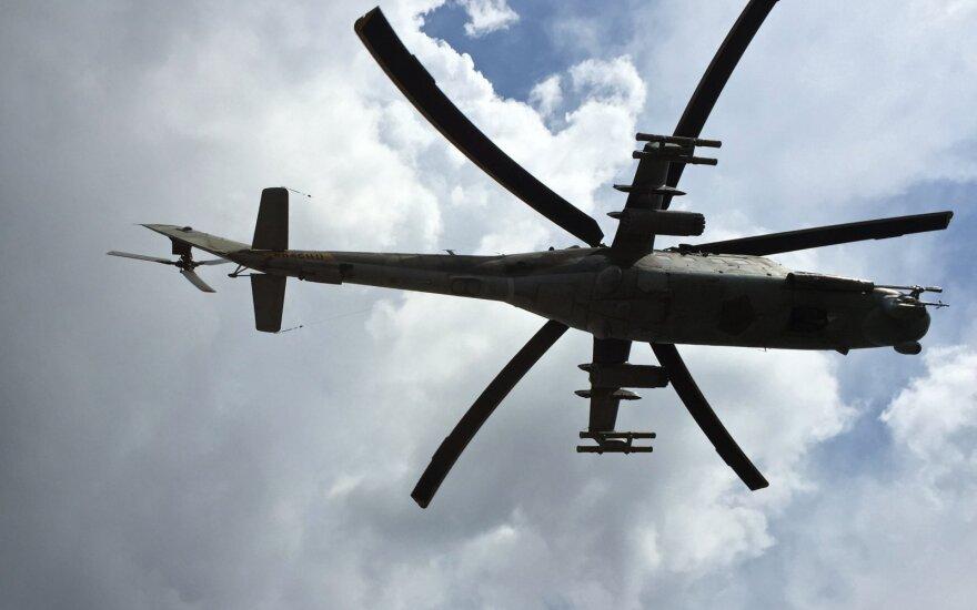 Sraigtasparnis MI-24