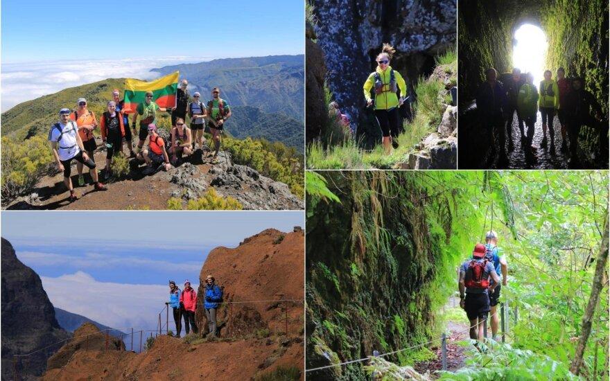 Trail bėgimo atostogos Madeiroje