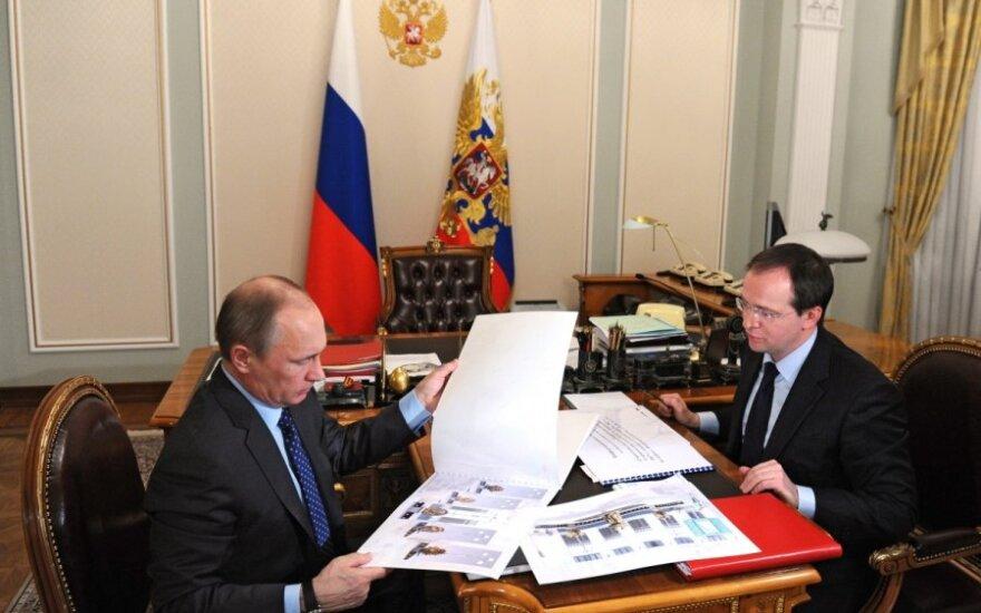 Vladimiras Putinas, Vladimiras Medinskis