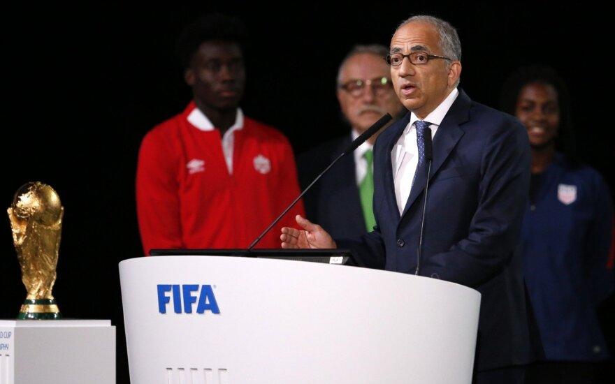 JAV futbolo federacijos prezidentas Carlosas Cordeiro
