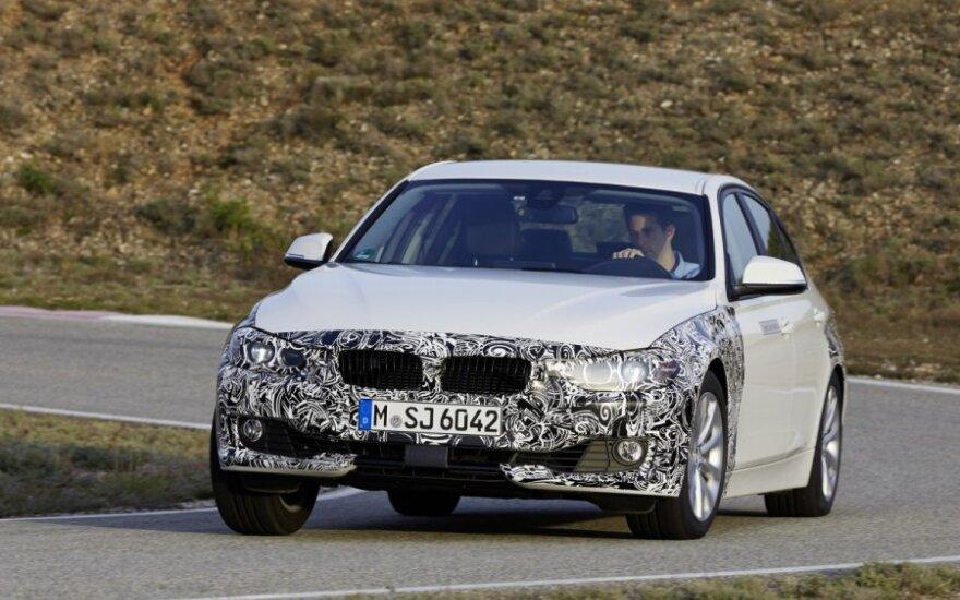BMW 3 Plug-in Hybrid prototipas