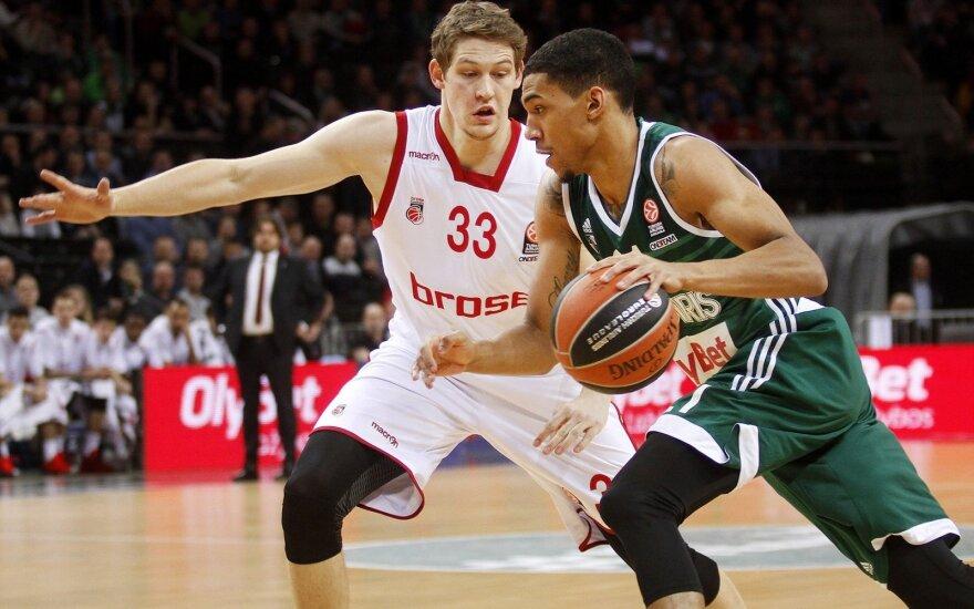 "Eurolyga. Top -16. Kauno ""Žalgiris"" - Bambergo ""Brose Basket"""
