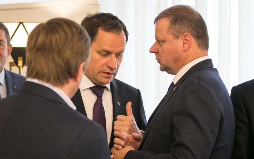 Ramūnas Karbauskis, Saulius Skvernelis, Valdemaras Tomaševskis