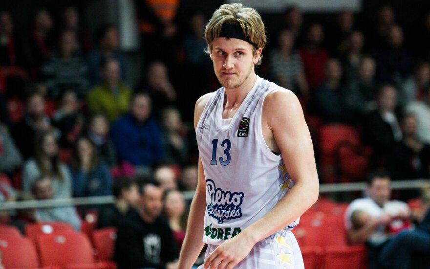 Karjeros rungtynes sužaidęs Skučas – savaitės MVP