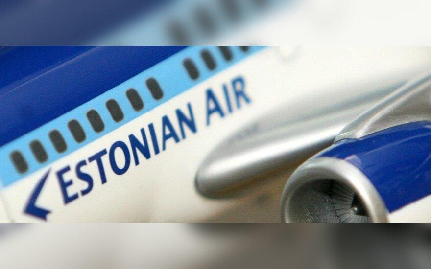 """""""Estonian Air"""" atsisako skrydžių iš Vilniaus į Berlyną"""