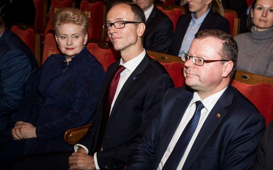 Dalia Grybauskaitė, Saulius Skvernelis