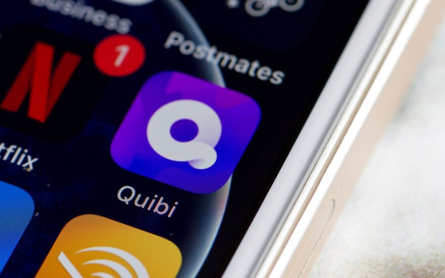 Quibi programėlė