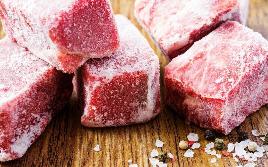Didžiausia klaida, kurią darome šaldydami mėsą