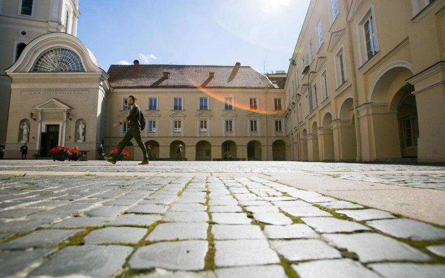 Tarptautiniame reitinge aukštyn kilo Vilniaus universitetas