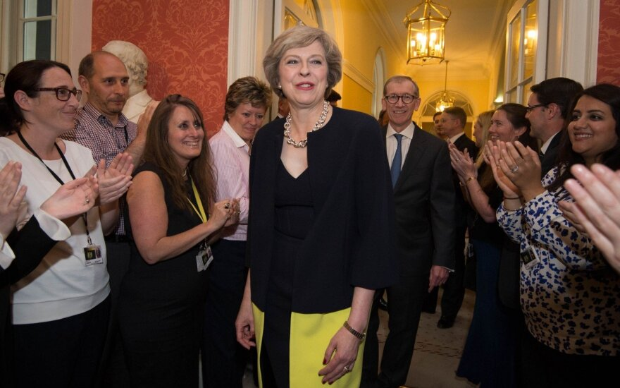 Theresa May su vyru Philipu Johnu