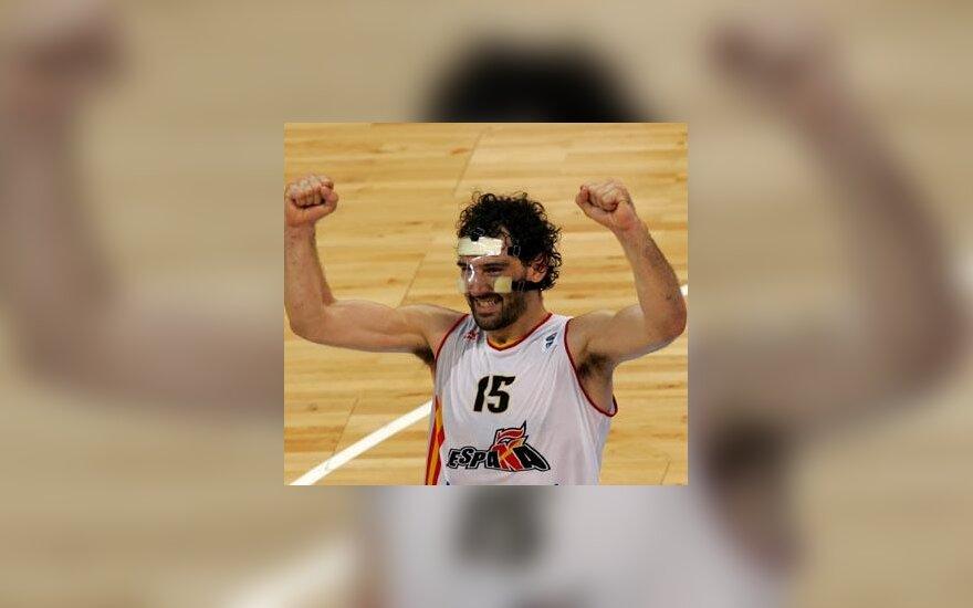 Jorge Garbajosa džiaugiasi pergale
