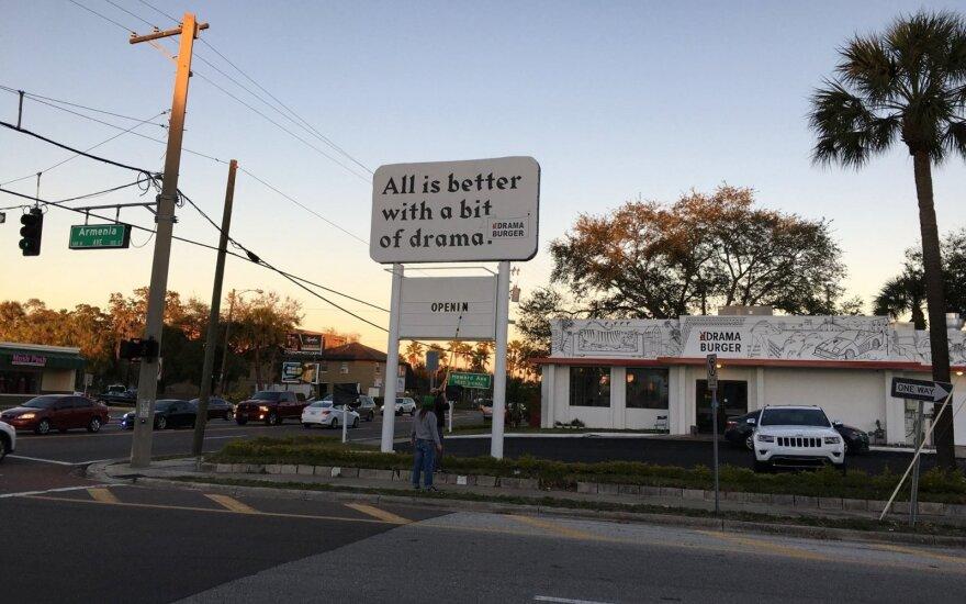 Drama Burger Tampa
