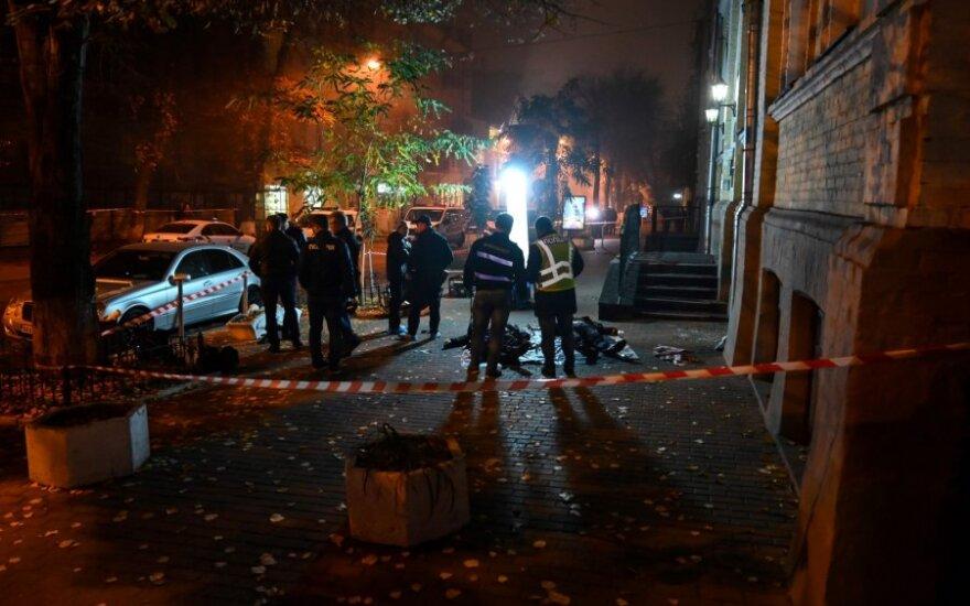 Kijeve sprogus granatai žuvo du žmonės