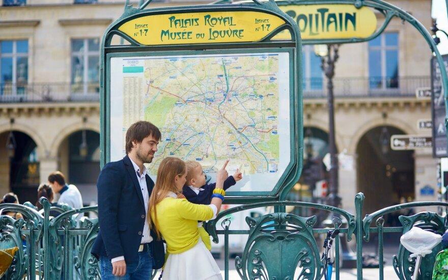 Tėvai Prancūzijoje