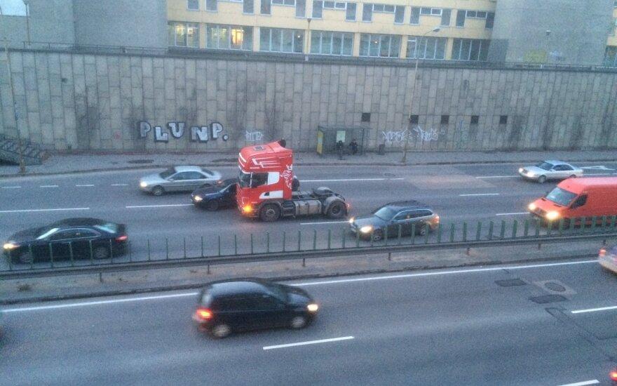 Skaitytojas užfiksavo avariją Vilniuje