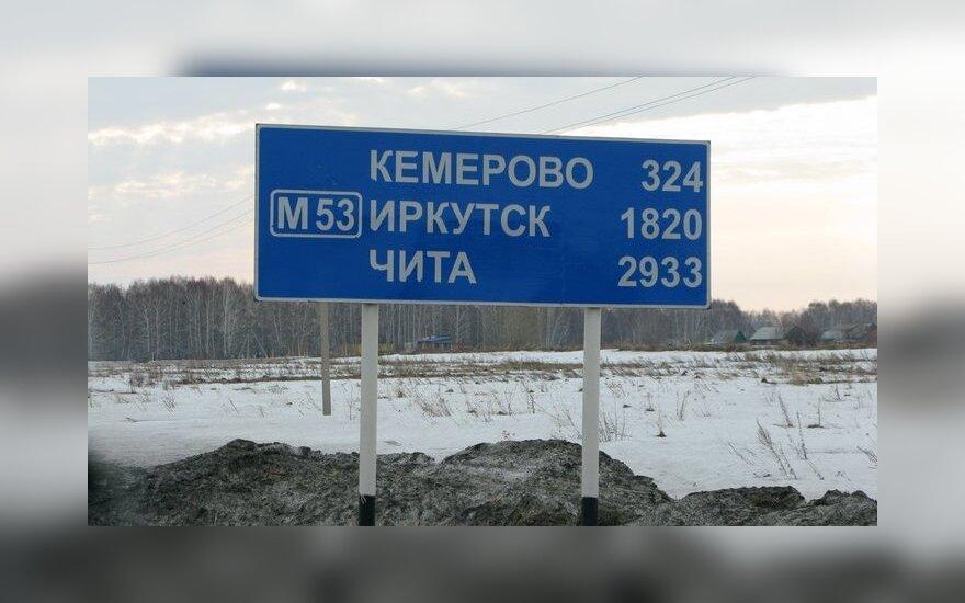 Kelio ženklas Rusijoje