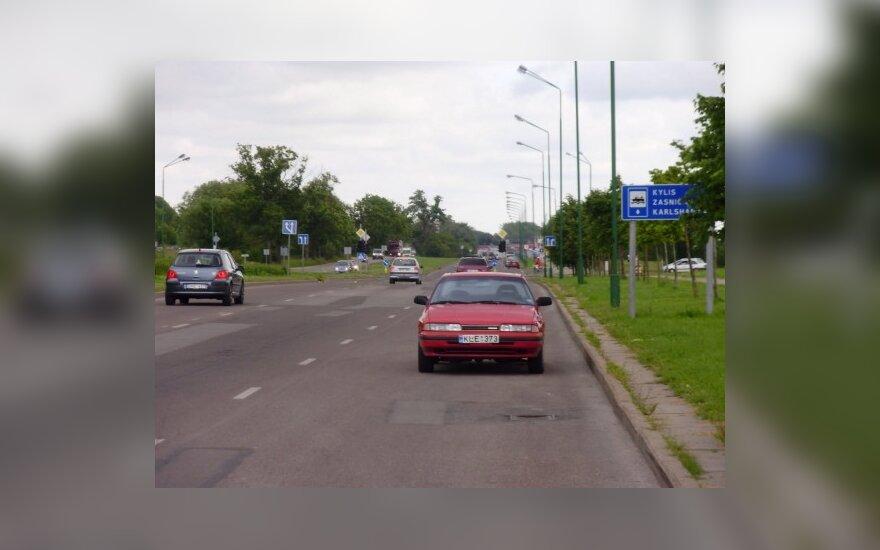 Klaipėda, Šilutės pl., 2010-07-07, 11.21 val.
