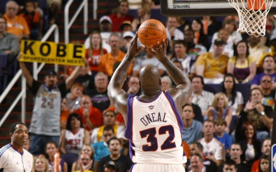 Shaquille'as O'Nealas (Suns)