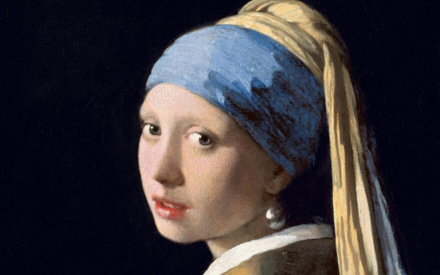 """""""Mergina su turbanu"""" arba """"Mergina su perlo auskaru"""""""