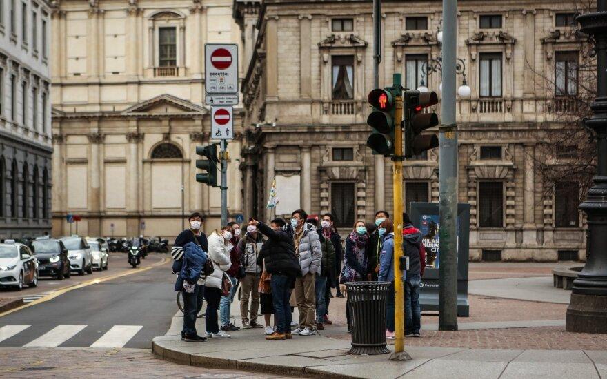 Koronavirusas Milane