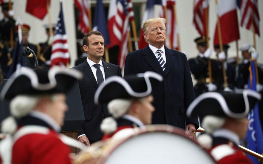 Prancūzija ir JAV nori sukurti naują branduolinį susitarimą su Iranu