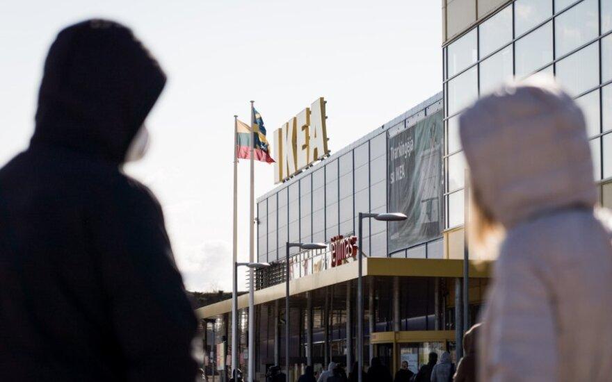 """""""Ikea"""" parduotuvę Estijoje atidarys 2022-ųjų rudenį"""