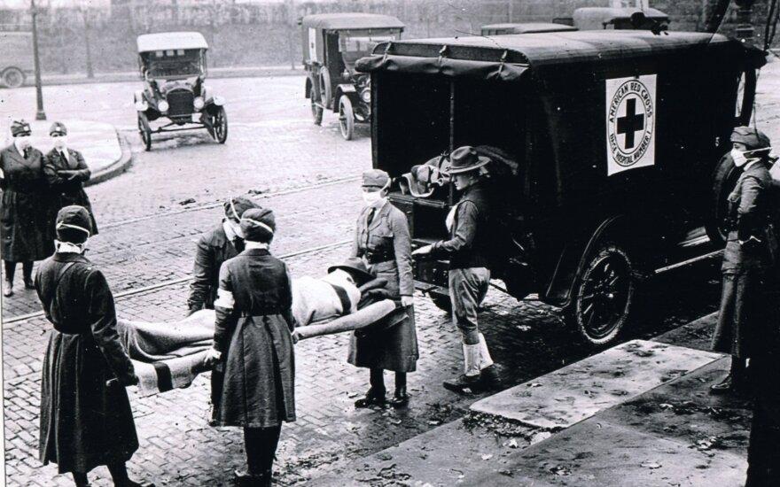 Ispaniškojo gripo pandemija