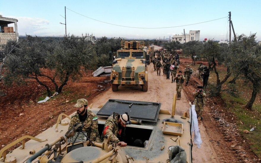 Dėl Maskvos ir Damasko veiksmų situacija Sirijoje tampa nekontroliuojama