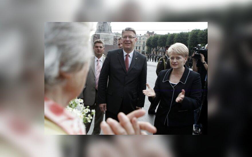 D.Grybauskaitė: Lietuva pasiruošusi padėti Latvijai