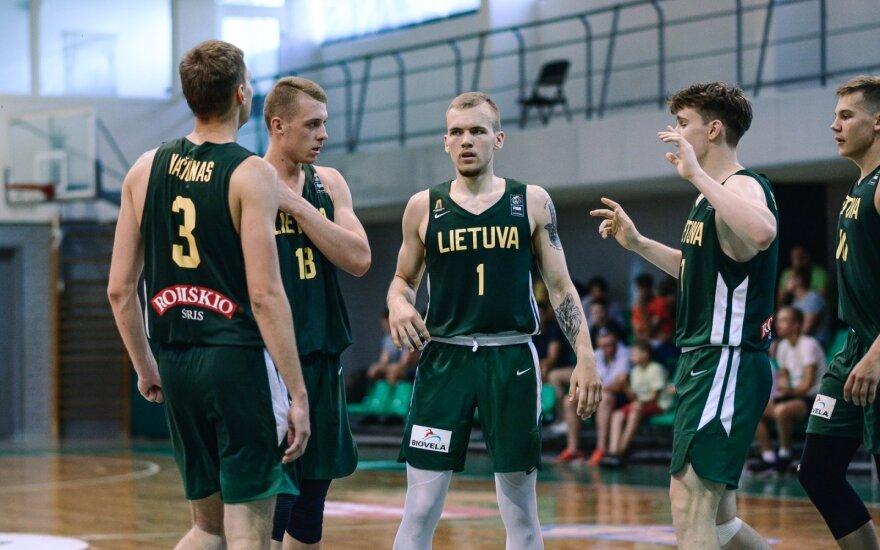 Lietuvos U-20 krepšinio rinktinė