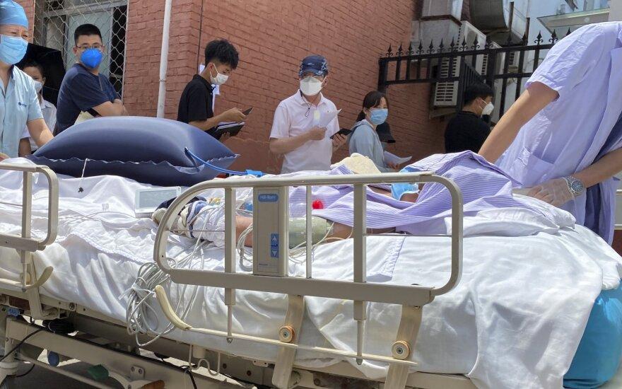 Kinijoje užfiksuoti 27 nauji COVID-19 atvejai