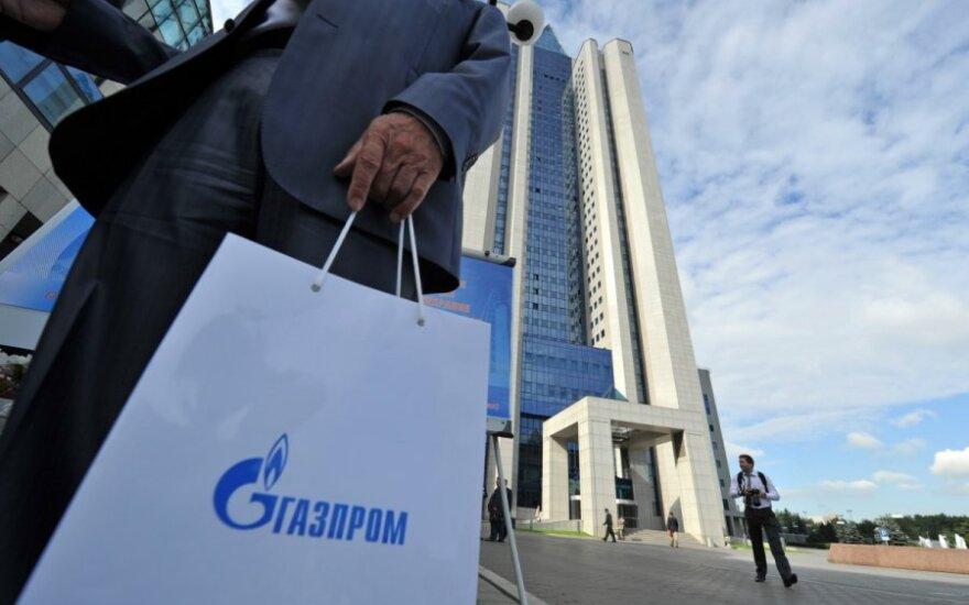 """""""Gazprom"""" traukiasi"""