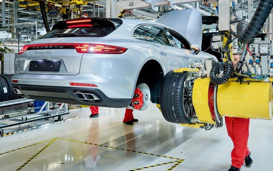 """Prasidėjo """"Porsche Panamera Sport Turismo"""" gamyba Leipcige"""