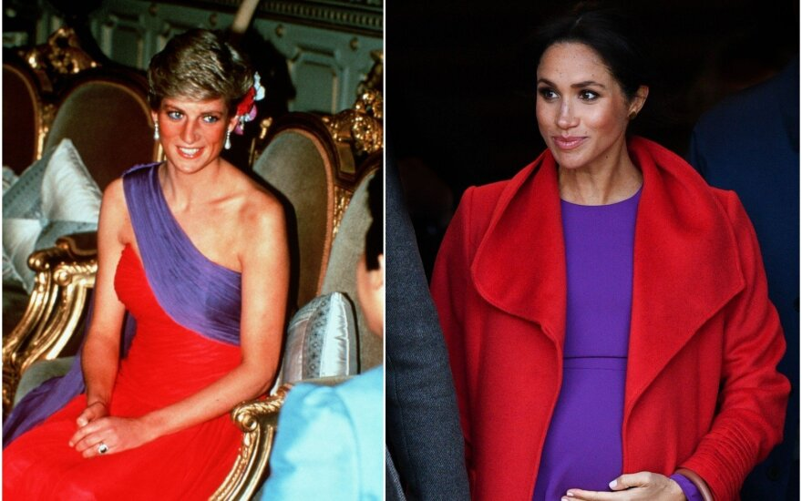 Princesė Diana, Meghan Markle